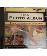 Family Photo Album Scrapbooking Software Cd-RARE VINTAGE COLLECTIBLE-SHI... - $16.90