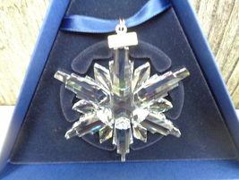 2006 Swarovski Crystal Snowflake Christmas Ornament NIB - $80.00