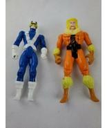 "1990s Xmen Toy Biz Marvel 5"" Cyclops Sabertooth Action Figure Lot - $12.00"