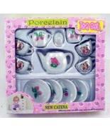Real Porcelain Ceramic Tea Set - $5.99