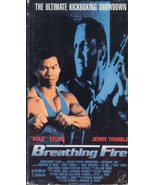 Breathing Fire (VHS Video) - $3.95