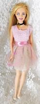 """1999 Mattel Barbie 11 1/2"""" doll - Blue Eyes, Purple Eye Shadow - Bends a... - $8.59"""