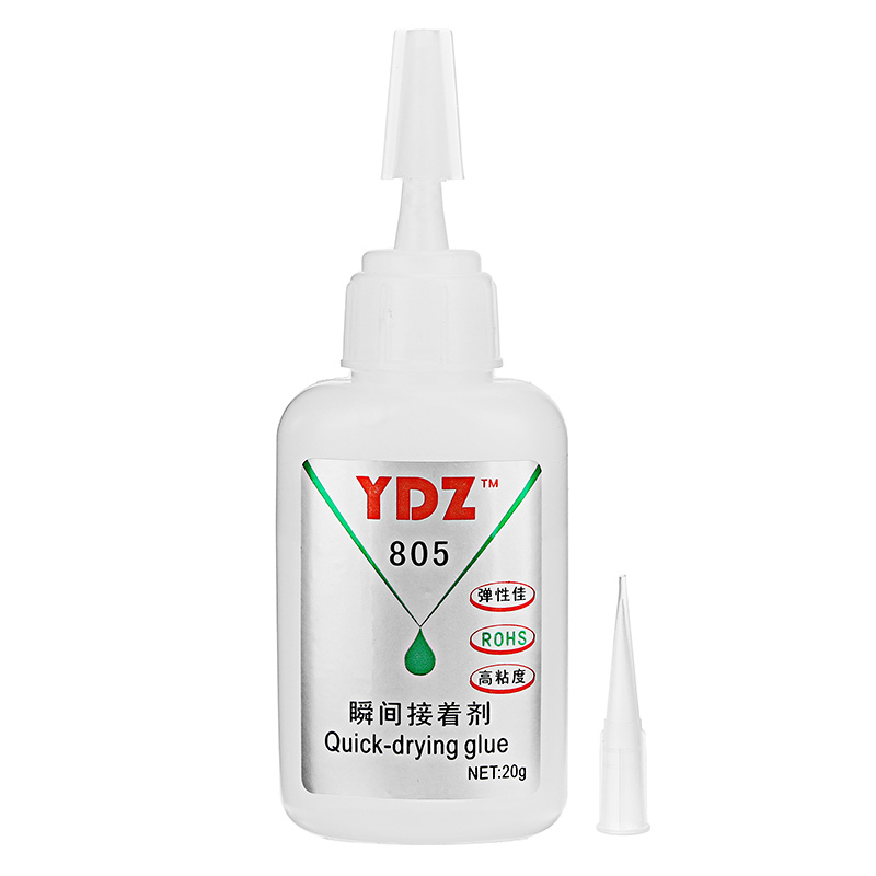 YDZ-805 20g Super Instant Glue for Leather Metal Funiture Quick Drying Adhesive