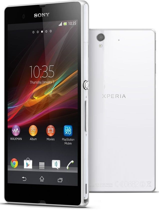 sony xperia z 16gb white unlocked smartphone lt36h smartphone mobilephone for sale  USA