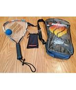 Ektelon Energy 900 Racquetball Racquet Power Pack Ball, Eye Guards, Case - $23.71
