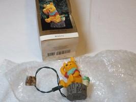 Winnie The pooh Hear Pooh's Voice Magic Hallmark Christmas Ornament Keep... - $16.03