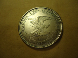 GEORGE WASHINGTON NRA MEDALLION COLLECTOR'S COIN          > BAG 14643  - $6.43