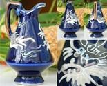Vintage_moriage_dragon_dragonware_pitcher_miniature_cobalt_blue_thumb155_crop