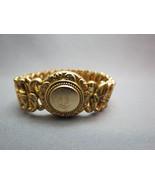 Art Nouveau Minerva Expansion Bangle Bracelet G... - $49.49