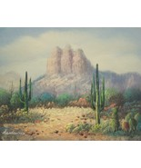 """Beautiful Original Oil Painting Signed by Artist """"HENDERSON"""" - """"Aztect S... - $50.00"""
