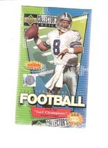 1997 UPPER DECK SERIES 1 FOOTBALL TURF CHAMPIONS WAX BOX - $22.99