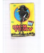DICK TRACY WAX BOX TOPPS  - $22.99