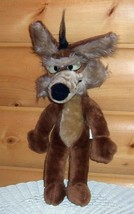 """Vintage '71 Mighty Star Warner Bros Looney Tunes Plush 18"""" Wile E Coyote - $15.89"""