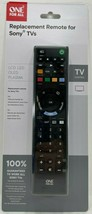 One For All - URC1812 - Sony TV Replacement Remote Control - Black - $25.69