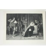 Order of Execution Steel Engraving by Doris Raab 1800's - $35.00