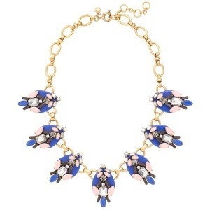 Primary image for J.Crew Womens BRILLIANT STONES NECKLACE~*Brilliant Sea*~