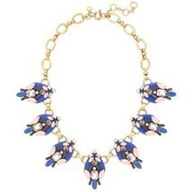 J.Crew Womens BRILLIANT STONES NECKLACE~*Brilliant Sea*~ - $65.00