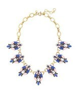 J.Crew Womens BRILLIANT STONES NECKLACE~*Brilliant Sea*~ - £50.33 GBP