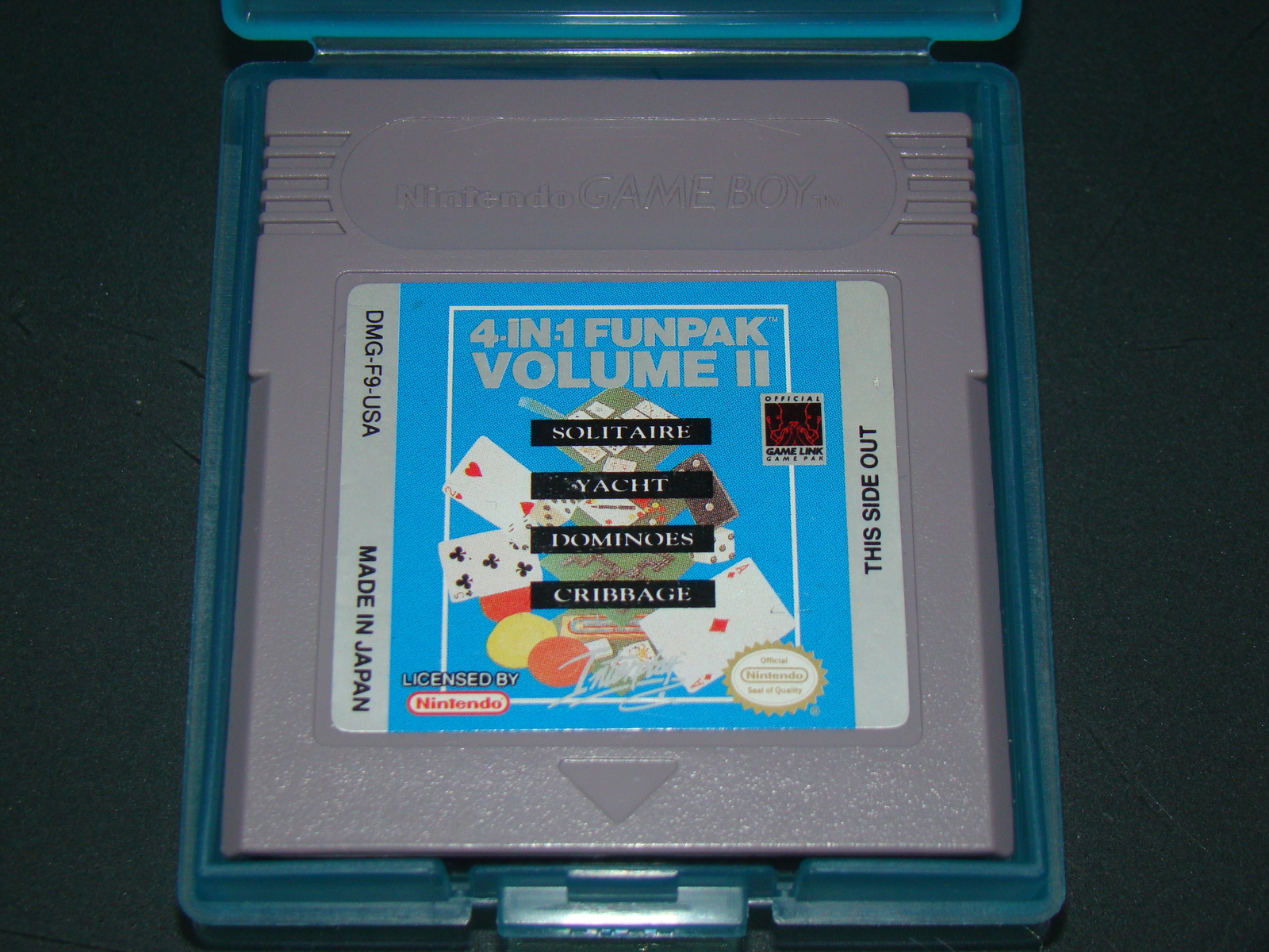 Primary image for Nintendo GAME BOY - 4-IN-1 FUNPAK VOLUME II (Game and Case)