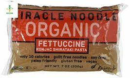 Miracle Noodle Organic Shirataki Konjac Fettuccine Pasta, Low Carbs, Low... - $30.95