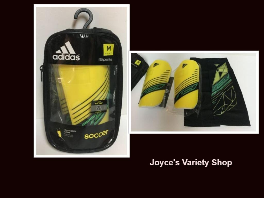 Adidas soccer shin guards collage