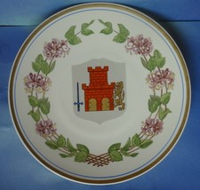 Vintage Scandinavian Sweden RMR UPSALA EKEBY Bohuslan Gefle Plate Plaque... - $18.00