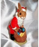"Royal Doulton Santa Bunnykins ""Happy Christmas"" DB 17 Figurine - $59.00"