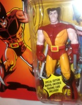 ✰ WOLVERINE ACTION FIGURE 1st edition w rare WOLVERINE CARD  MOC ~ TOY B... - $29.99