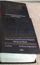 1994 Ford Lincoln Mercury Powertrain Control Emission Diagnosis Service Manual - $89.09