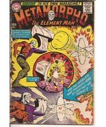 Dc Metamorpho #1 Premiere Issue The Element Man Action Adventure - $9.95