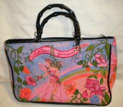 Merona Bamboo Handle Handbag  Emblished Beaded ... - $22.77