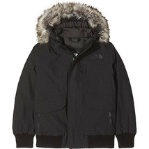 The North Face Boys' Gotham Down Jacket, Tnf Black/Tnf Black , M - $197.01