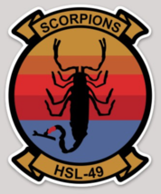 US Navy Helicopter Squadron HSL-49 Sticker - $9.89