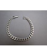 FREE SHIP USA VTG Avon Silvertone Metal Link Br... - $14.99