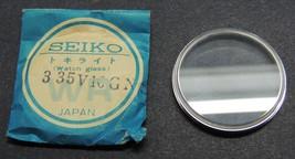 Genuine Seiko Watch Crystal 335V1CGNS  33. mm    Japan - $14.69