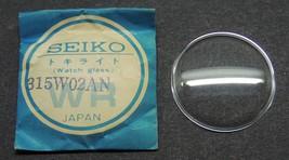 Genuine Seiko Watch Crystal 315W02AN  31. mm    Japan - $15.67