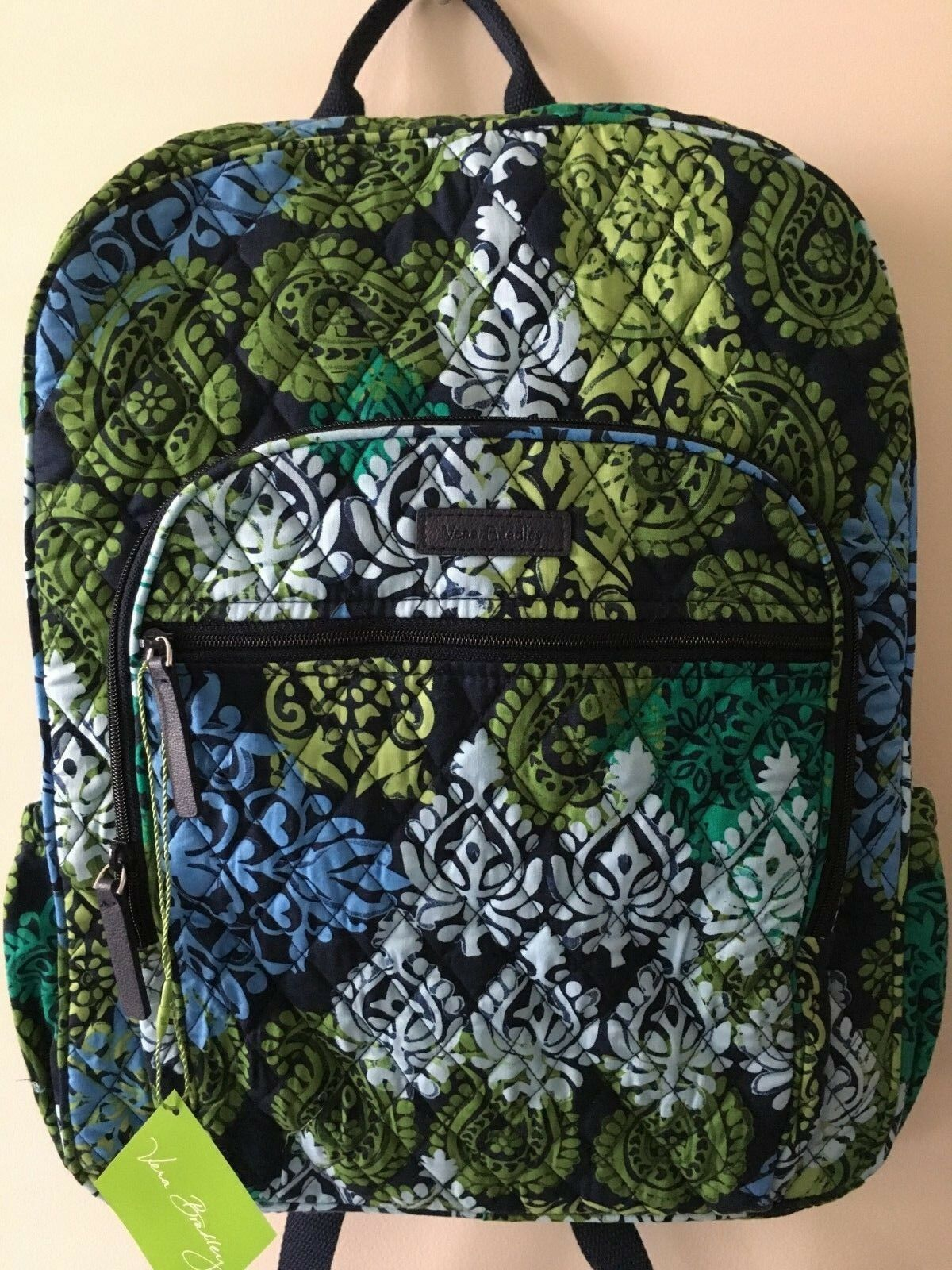 4eb2a5249423 NWT VERA BRADLEY CAMPUS BACKPACK SCHOOL COLLEGE BOOK BAG  109 in CARIBBEAN  SEA