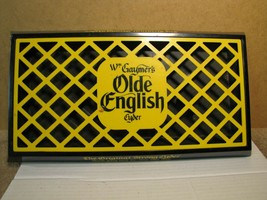 Vintage Wm. Gaymer's Olde English Cyder Drip Tray / Over Pour Bar Tray - $32.49