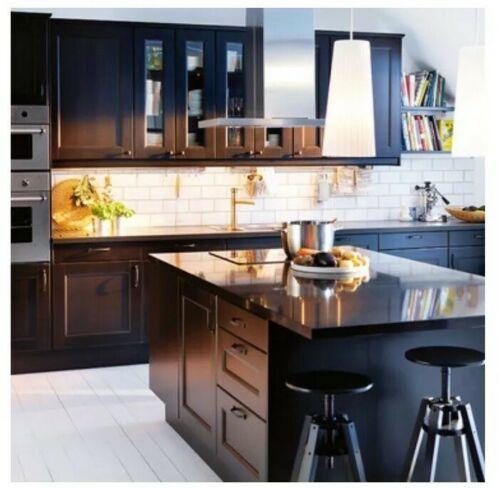 "Ikea Laxarby CABINET DOOR Black Brown Sektion kitchen 21"" X 40"" 202.680.45"