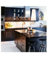 "Ikea Laxarby CABINET DOOR Black Brown Sektion kitchen 21"" X 40"" 202.680.45 - $101.97"