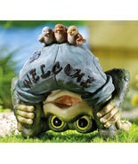 Bending Over Frog Statue I See You  - $16.95
