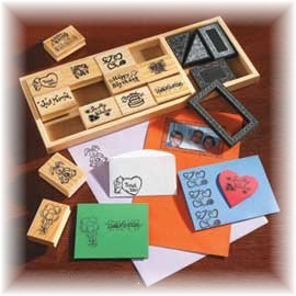 All occasion rubber stamps