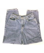 New York & Company Women's Jeans Relaxed Fit Size 10P Dark Wash Denim - $18.51