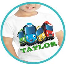 Tayo Little Bus T-shirt Apparel T Shirt Shirts Tshirt Personalized Gift ... - $15.99
