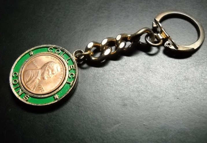 Collect Coins Key Chain 1972 Liberty Penny and 50 similar items