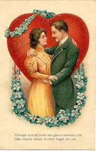 To My Valentine 1908 Vintage Post Card - $7.00