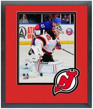 Cory Schneider 2013-14 New Jersey Devils - 11 x 14 Team Logo Matted/Fram... - $43.95