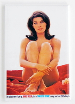 RAQUEL WELCH NUDE MAGNET 2X3 INCHES PIN-UP PIN UP 1960s FANTASTIC VOYAGE  image 1