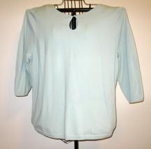 Beautiful Blue Top Shirt by Lane Bryant Size 1X Nice! #D333 - $9.99