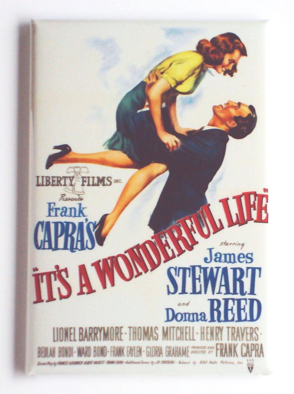 It s a wonderful life magnet 2x3